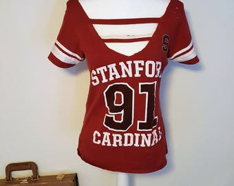 Cut Out, Distressed Stanford Shirt