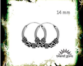 Tribal silver rings
