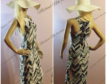 Maxi Tank Dress/ Sun Jersey Cover up in sizes S M L XL XXL/ Casual Dress/Open Back Close- Fitting Full Length Dress