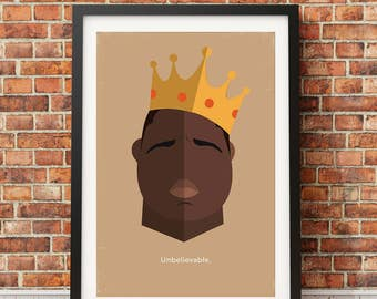 Notorious B.I.G. Original Icon Print (Icon Series)