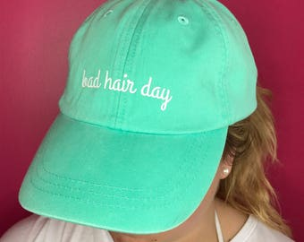 Bad Hair Day Baseball Hat Future Mrs. Bride to Be
