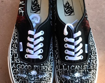 Avenged Sevenfold Synyster Gates Signature Custom Shoes