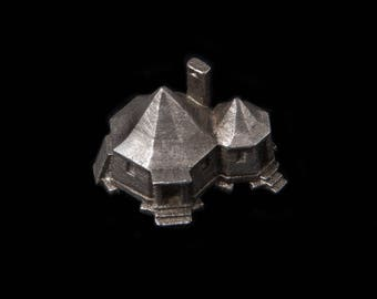Harry Potter Hagrid's hut architecture scale 1:500 lead free pewter building souvenir Archiminima replica