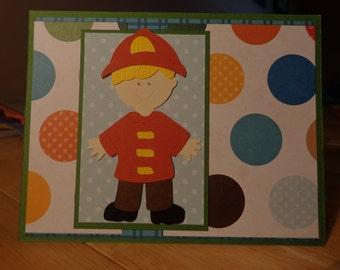 Fireman card