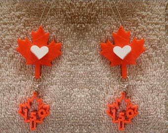 Canada Day Jewelry 150 Birthday