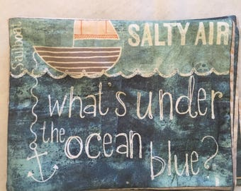 What's Under The Ocean Blue? Cloth Book