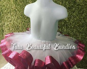 Hot Pink Glitter Princess Tutu