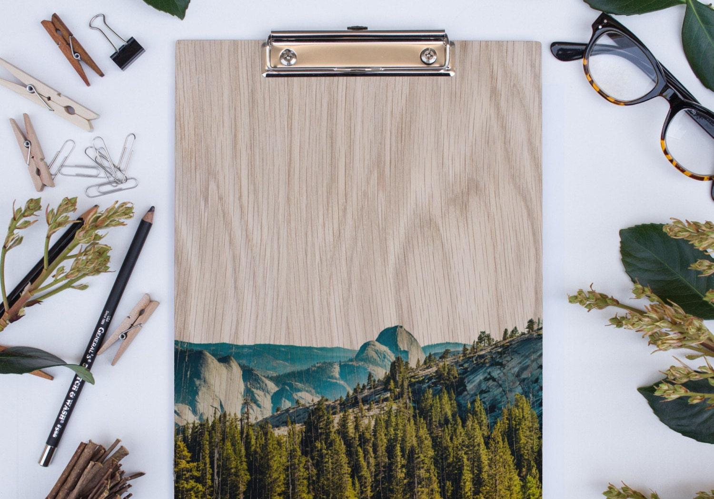 Yosemite clipboard by Lemoneeonthehills on Etsy