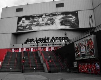 Red Wings, Joe Louis Arena, Michigan- Photography Prints
