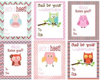 VALENTINES DAY - Valentine Cards - Instant Download - Digital Printable Design - Printable Card - Valentine Printable