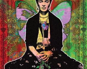 Frida Flowers Poster
