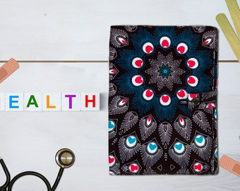Protects health Peacock booklet made in France with hand