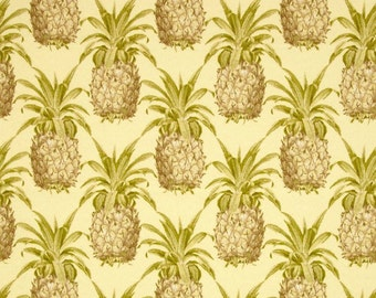 Waverly Sun and shade PINEAPPLE GROVE natural  Curtain Valance