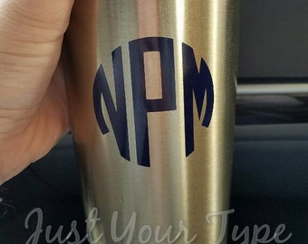 Personalized Insulated Tumblers 20 oz and 30 oz