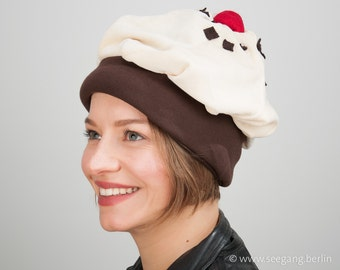 Cosy Cute Cupcake Hat