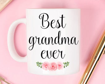 Grandma mug, Grandma gift, Mother's Day mug, Mother's day gift, mothers day mug, grandma doffee mug