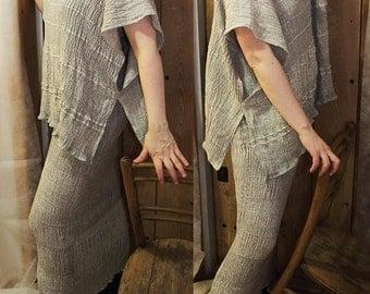 Women's clothing-linen tunic T1