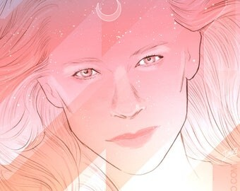 Spaced Cate Blanchett (signed prints) © Iván García