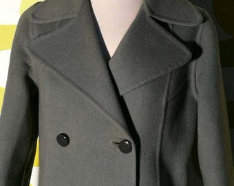 Vintage coat, 60s, made in italy, vintage coat