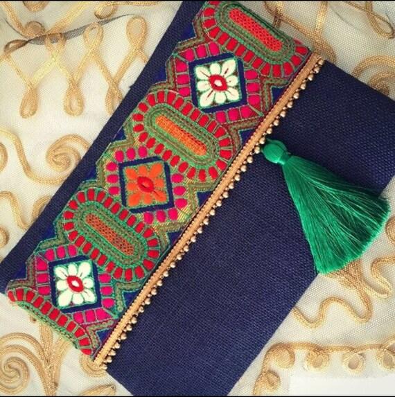 sac boho pochette sac femme cadeau de no l par bohochicbydamla. Black Bedroom Furniture Sets. Home Design Ideas