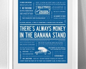 ARRESTED DEVELOPMENT Typography Print (LANGUAGE)