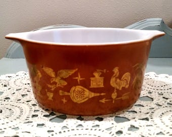 PYREX 473 Mixing Bowl 1 Quart