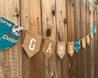 Miami Dolphins GameDay Banner, NFL