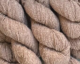 Berroco FUJI Yarn 7.99+1.25ea Ship Worsted Silk Cotton Nylon Sandy Beige 9203 - Free Designer Patterns. Soft, Drapey. See My Other Fuji!