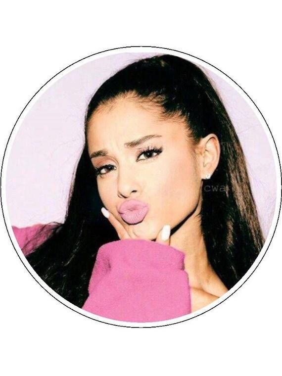 Ariana Grande Cake Topper