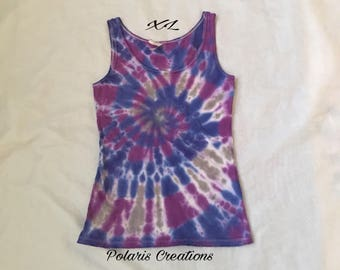 In Stock!!! Ready to Ship!!!! Tie dye tank top (XL)!!!!!