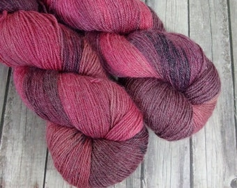 Bambrino Sock Yarn , Hand Dyed,  Merino Wool -  Bamboo - Nylon   SW  460 yd