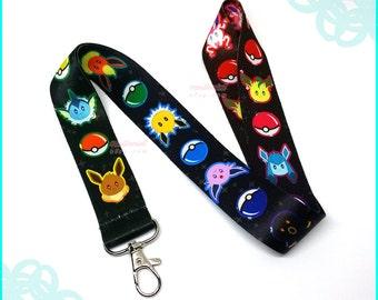 Eeveelution Lanyard Pokemon Gifts