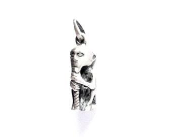 Silver Thor VIKING KRISTALL 3 dimensions pendant