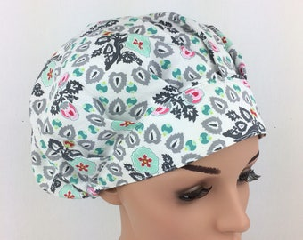 CLEARANCE ! Bouffant Surgical Scrub Cap Nurse Hat Chemo Cap Surgical Scrub Hat Surgical ScrubHat