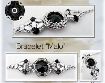 """Schéma bracelet """"Malo"""""""