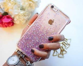 Magic Ombre Glitter iphone 7 case iphone 7 plus case samsung galaxy s7 case iphone 6 case iphone 6s case iphone 6 plus case iphone 5 case