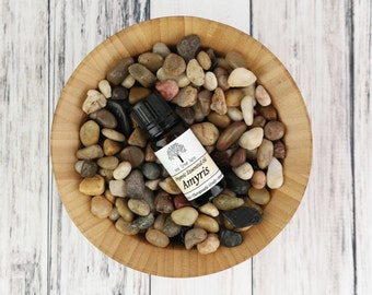 Organic Amyris ( West Indian Sandalwood ) Essential Oil • Therapeutic Grade • Amyris balsamifera •  .3 oz /  10ml With Dropper Caps
