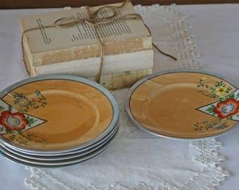 Vintage plates - Set of 6 plates - Made in Japan