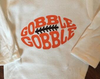 Boys thanksgiving onesie