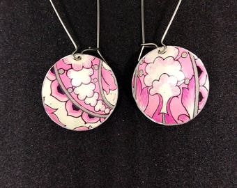Paisley Tin Earrings