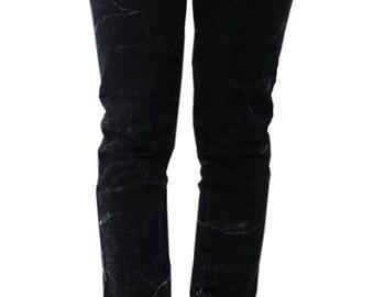 Gothic jeans Snowwash effect