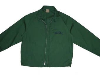 Vintage Alaska Zip Up Jacket L