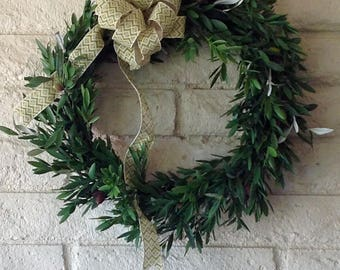 Olive Branch Wreath-Mediterranean Wreath-Olive Harvest Wreath