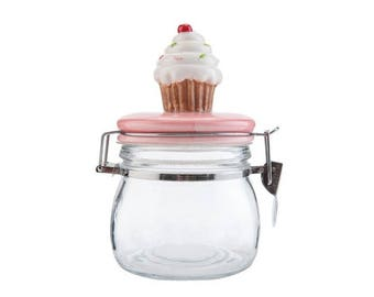 Kitchen jar glass Muffin