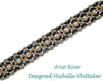 Arco River Bracelet Needlework Tutorial PDF