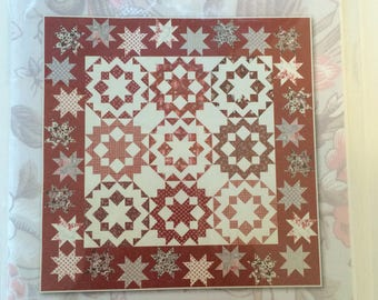 Dancing with the Stars II quilt pattern by Planted Seed Designs, 68 by 68 inches