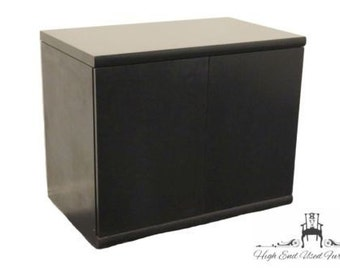 KIMBALL INTERNATIONAL Black End 26″ Credenza / Console 60-2236