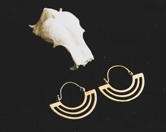 Bronze Earrings - South America Inspiration - Travel - Bronze - Ethnic - Boho - Design