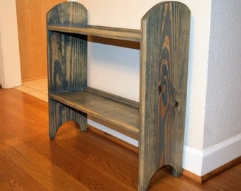 Handmade Wood Shoe Rack