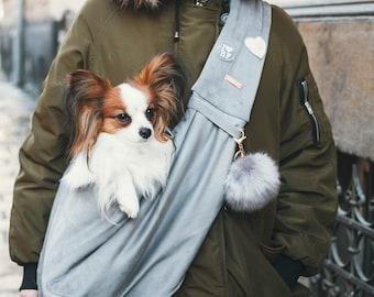 Super Cozy Dog Sling Bag - Dog Carrier - Pet Sling Bag